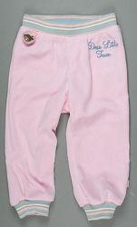 Польские хлопковые велюровые спортивные штаны для девочки, р. 98, 104, 110