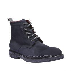 Bata оригинал бомужские ботинки натуральный замш