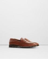 Mango оригинал мужские туфли натуральная кожа 44-45