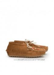 Mango оригинал ботинки для девочки демисезон натуральный замш р. 32
