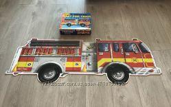 Напольный пазл Melissa & Doug Большая пожарная машина 24 элемента