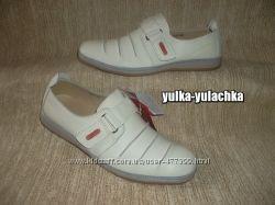 Кожаные туфли мокасины Цвет топленое молоко