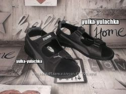 Кожаные мужские сандалии Puma