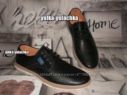 Стильные туфли на шнуровке баталы
