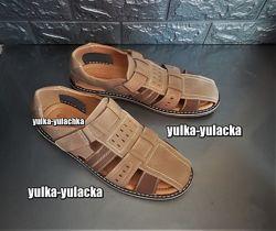 Мужские сандалии закрытого типа