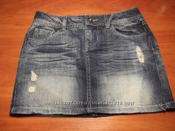 американская джинсовая юбочка на худенькую девушку