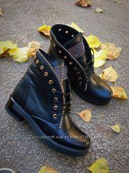 Кожаные ботиночки, весна-осень в наличии