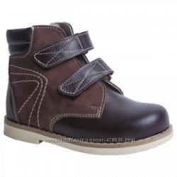 Ортопедические ботиночки Берегиня 1313 черные, синие, коричневые