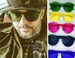 Стильные цветные очки