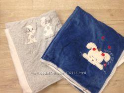 Плед-конверт 2в1  велюр для малышей