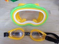 Маска и очки для плавания Intex