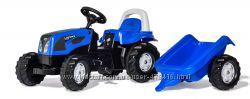 Трактор педальный с прицепом Rolly Toys Kid Landini 11841