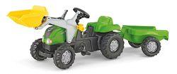 Детский трактор с прицепом и ковшом Rolly Toys 023134
