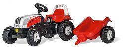 Трактор с прицепом Rolly toys Rolly kid 012510