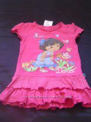 Летние футболки для девочки