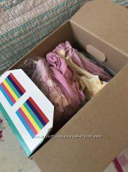Коробка вещей для девочки 0-9 м