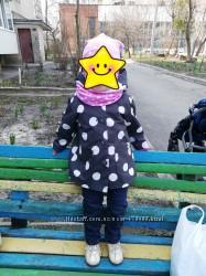 Плащик осень-весна 80-86 см
