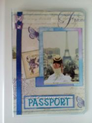 изготовлю обложки на паспорта, ручная работа, скрапбукинг