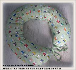 Подушка для беременности и кормления