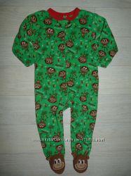 Флисовая пижама, человечек Early Days 18-24 мес, рост 92