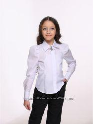 Блуза белая для школьницы Lukas