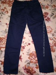 Темно синие брюки в школу