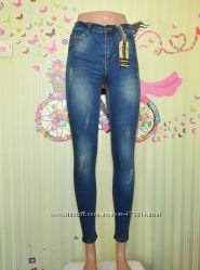 Фирменные джинсы, Зауженные короткие, Турция, от 26 до 33р, Хит 2019