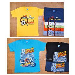 Яркие, модные футболки, Турция, хлопок, от 5 до 12 лет