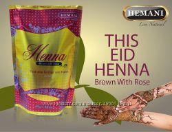 Пакистанская хна коричневая Brown with Rose