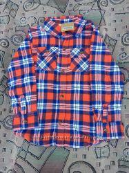 Фланелевая рубашка Crazy8 4т