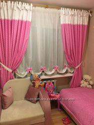 Ламбрекены, шторки для детской комнаты