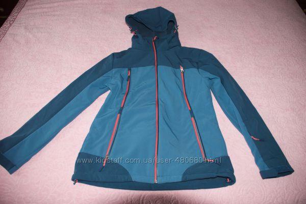 Куртка-Термо синяя женская Crane Techtex Softshell. Германия. р. евро 40, L