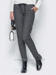 Любимые теплые брюки жаккард