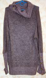 Стильный, удлиненный свитер. Италия.