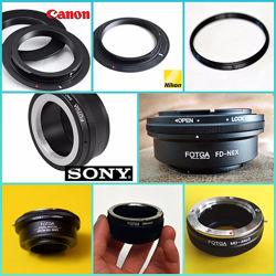 Переходники адаптеры M42, M39-для Canon, Nikon, Sony, Pentax, Samsung, NEX