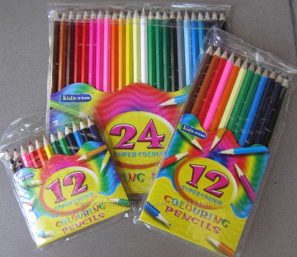 цветные карандаши доступные цены