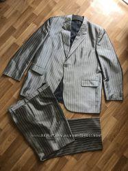 Классический костюм с красивым отливом размер 58-60