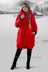 Зимняя куртка разные цвета 44, 46, 48, 50, 52, 54 размеры