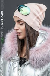 ультрамодная шапка с очками сьёмные