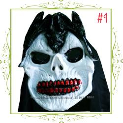 Маска череп на Хэллоуин