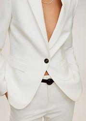 Идеальный белый  пиджак Mango