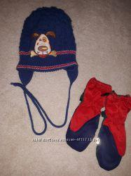 Теплые шапки. Рукавицы . Покупая шапку- рукавицы в подарок