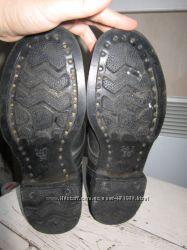 Рабочие гвоздевые ботинки юфть кирза
