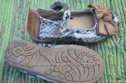 Милые маленькие туфельки от Некст, натуральная кожа