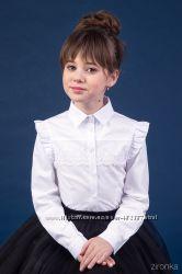 Школьные блузы ТМ Зиронька 26-9043-1 рост 122-152см в наличии