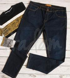 Мужские демисезонные джинсы. Батал
