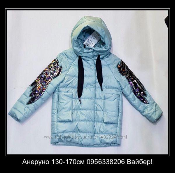 Анеруно демисезонное пальто и куртки для девочек. Весна-Осень 2019