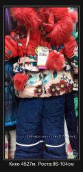 Новые Зимние комбенизоны на девочек Кико, Данило, Билеми роста 74-116см