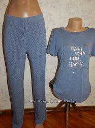 Marks&Spencer пижама вискозная футболка со штанишками р10