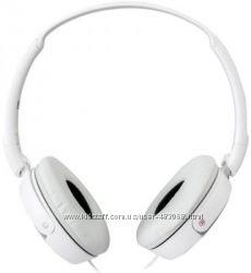 Наушники белые накладные Sony MDR-ZX310АР с микрофоном